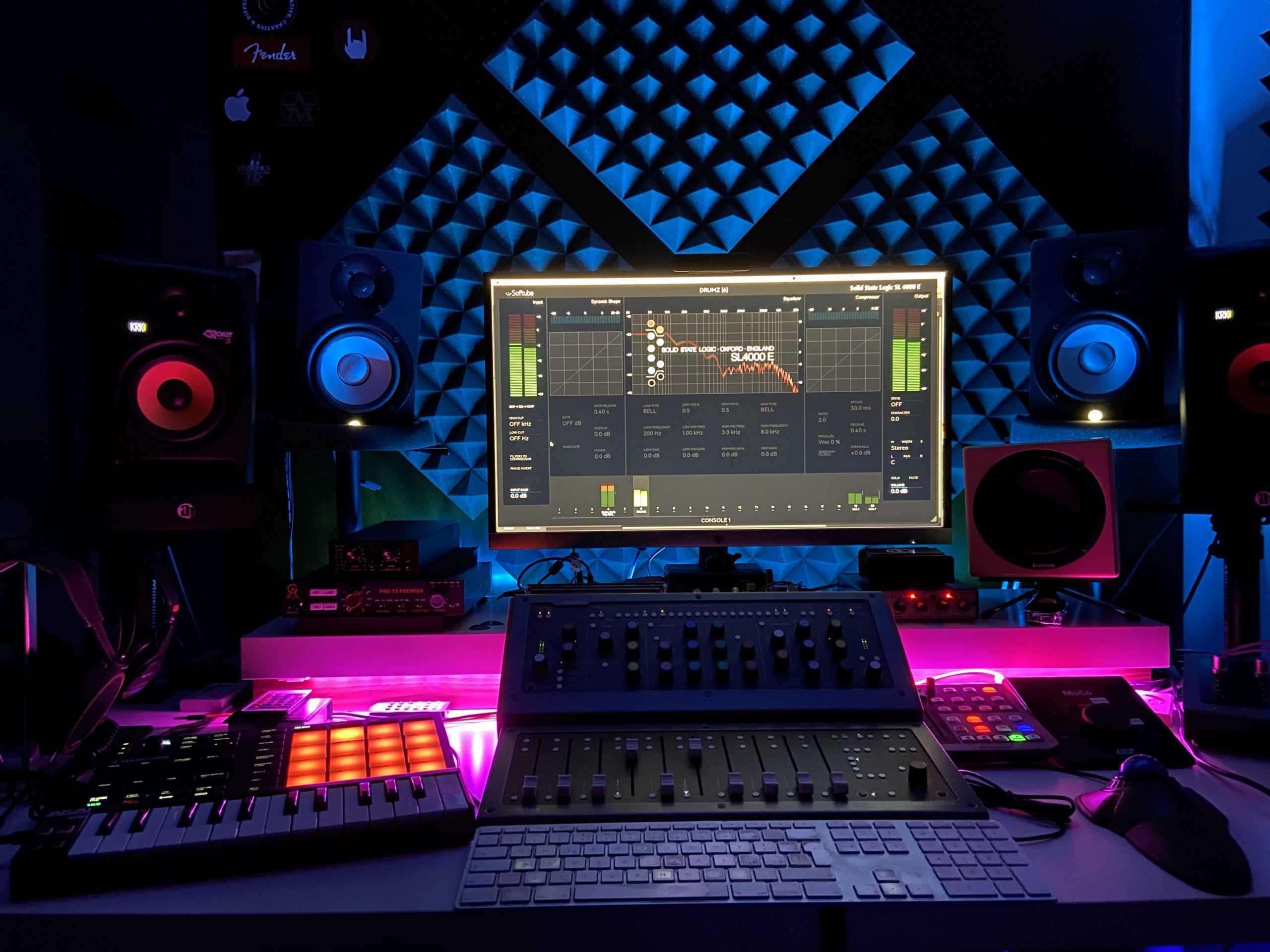 Studio Recording new